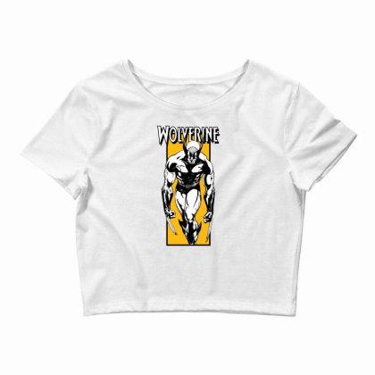 Wolverine Crop Top Designed By Paísdelasmáquinas