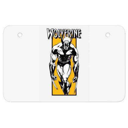 Wolverine Atv License Plate Designed By Paísdelasmáquinas