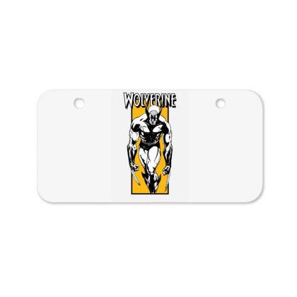 Wolverine Bicycle License Plate Designed By Paísdelasmáquinas