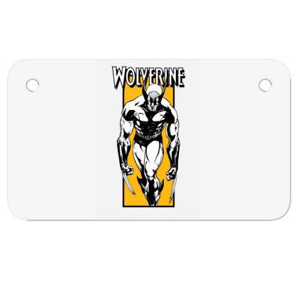 Wolverine Motorcycle License Plate Designed By Paísdelasmáquinas