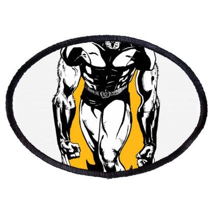 Wolverine Oval Patch Designed By Paísdelasmáquinas