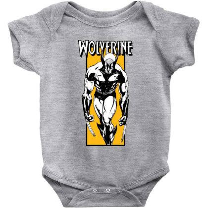 Wolverine Baby Bodysuit Designed By Paísdelasmáquinas