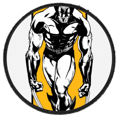 Wolverine Round Patch Designed By Paísdelasmáquinas