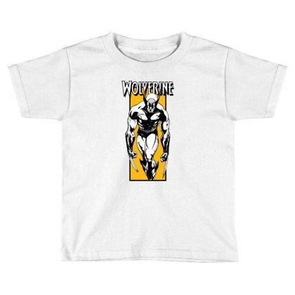 Wolverine Toddler T-shirt Designed By Paísdelasmáquinas