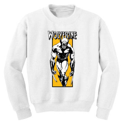 Wolverine Youth Sweatshirt Designed By Paísdelasmáquinas