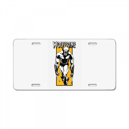 Wolverine License Plate Designed By Paísdelasmáquinas