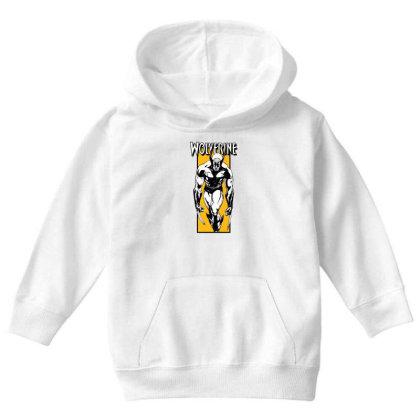 Wolverine Youth Hoodie Designed By Paísdelasmáquinas