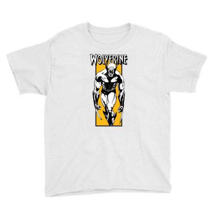 Wolverine Youth Tee Designed By Paísdelasmáquinas
