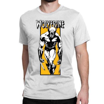 Wolverine Classic T-shirt Designed By Paísdelasmáquinas