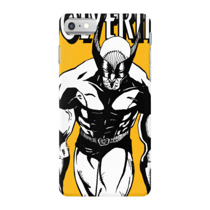 Wolverine Iphone 7 Case Designed By Paísdelasmáquinas