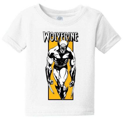 Wolverine Baby Tee Designed By Paísdelasmáquinas