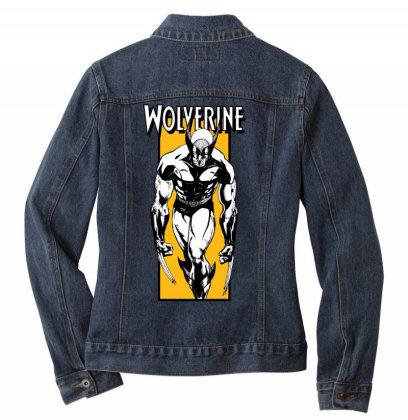 Wolverine Ladies Denim Jacket Designed By Paísdelasmáquinas