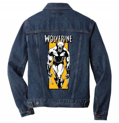 Wolverine Men Denim Jacket Designed By Paísdelasmáquinas