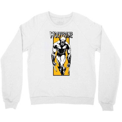 Wolverine Crewneck Sweatshirt Designed By Paísdelasmáquinas