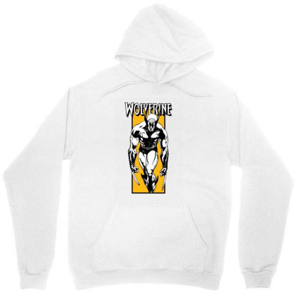 Wolverine Unisex Hoodie Designed By Paísdelasmáquinas