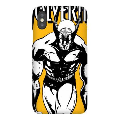 Wolverine Iphonex Case Designed By Paísdelasmáquinas