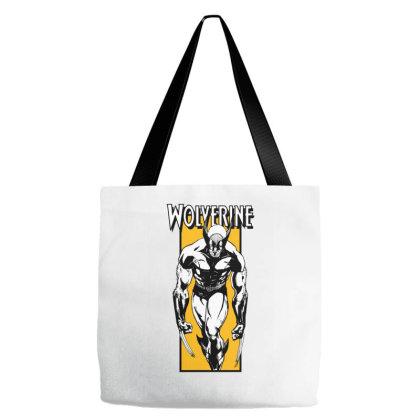 Wolverine Tote Bags Designed By Paísdelasmáquinas