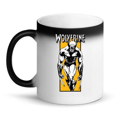Wolverine Magic Mug Designed By Paísdelasmáquinas