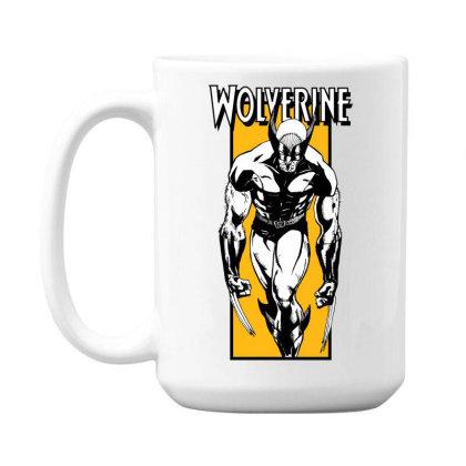 Wolverine 15 Oz Coffe Mug Designed By Paísdelasmáquinas