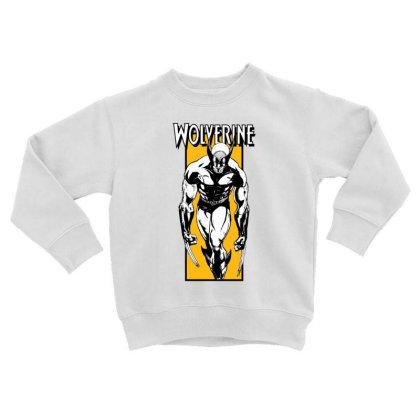 Wolverine Toddler Sweatshirt Designed By Paísdelasmáquinas