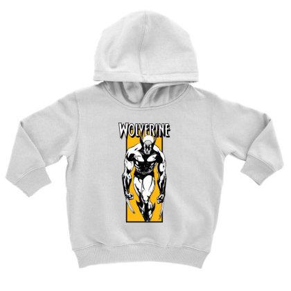Wolverine Toddler Hoodie Designed By Paísdelasmáquinas