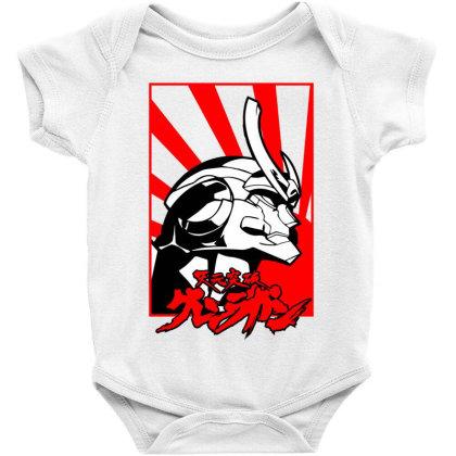 Gurren Lagann Baby Bodysuit Designed By Paísdelasmáquinas