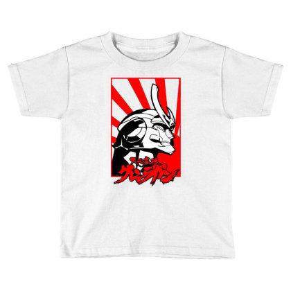 Gurren Lagann Toddler T-shirt Designed By Paísdelasmáquinas