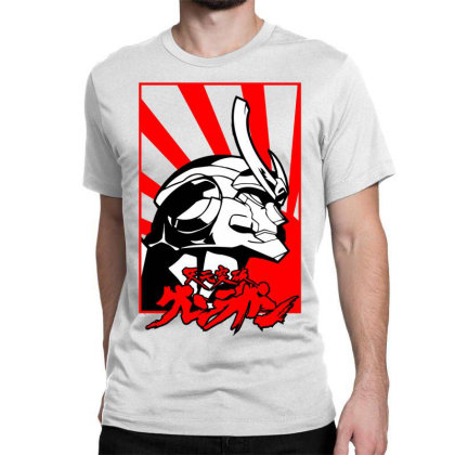 Gurren Lagann Classic T-shirt Designed By Paísdelasmáquinas