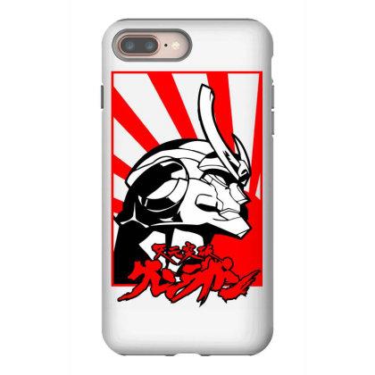 Gurren Lagann Iphone 8 Plus Case Designed By Paísdelasmáquinas