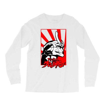 Gurren Lagann Long Sleeve Shirts Designed By Paísdelasmáquinas