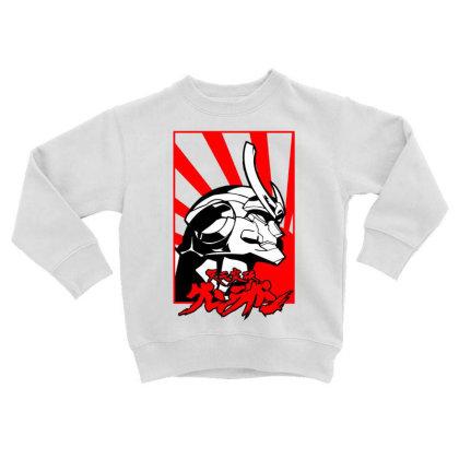 Gurren Lagann Toddler Sweatshirt Designed By Paísdelasmáquinas