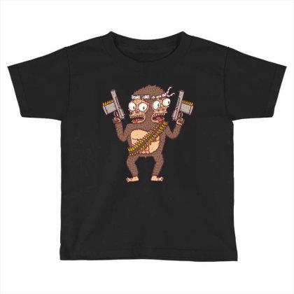 Guerilla Gorilla Toddler T-shirt Designed By Hexyeah