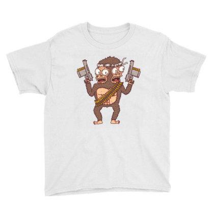 Guerilla Gorilla Youth Tee Designed By Hexyeah