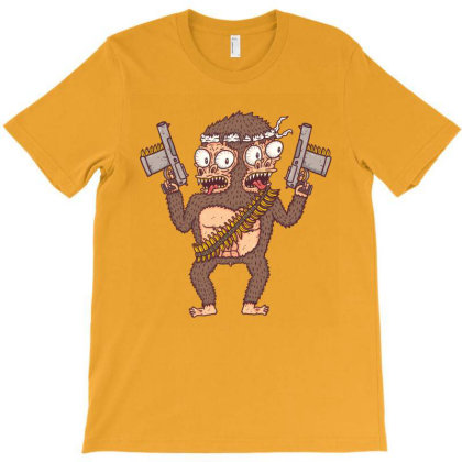 Guerilla Gorilla T-shirt Designed By Hexyeah
