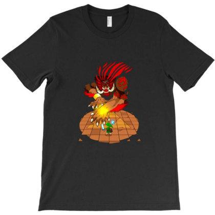 Final Boss T-shirt Designed By Gracer