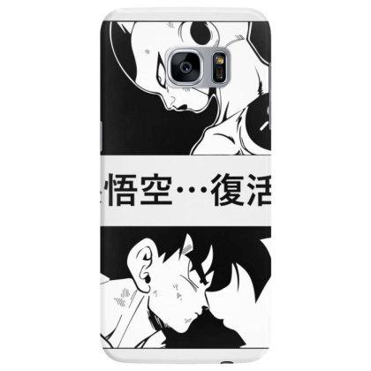 Dragon Ball Goku Vs Frieza Samsung Galaxy S7 Edge Case Designed By Paísdelasmáquinas