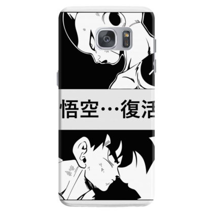 Dragon Ball Goku Vs Frieza Samsung Galaxy S7 Case Designed By Paísdelasmáquinas