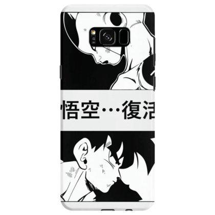 Dragon Ball Goku Vs Frieza Samsung Galaxy S8 Case Designed By Paísdelasmáquinas