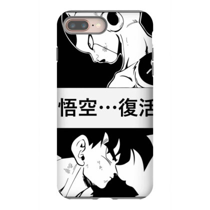 Dragon Ball Goku Vs Frieza Iphone 8 Plus Case Designed By Paísdelasmáquinas