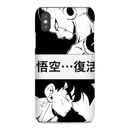 Dragon Ball Goku Vs Frieza Iphonex Case Designed By Paísdelasmáquinas