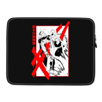 Gohan Vs Cell Laptop Sleeve Designed By Paísdelasmáquinas