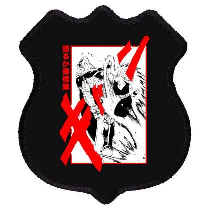 Gohan Vs Cell Shield Patch Designed By Paísdelasmáquinas