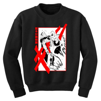 Gohan Vs Cell Youth Sweatshirt Designed By Paísdelasmáquinas