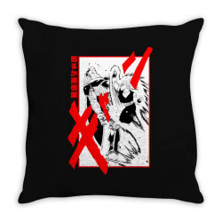 Gohan vs cell Throw Pillow | Artistshot