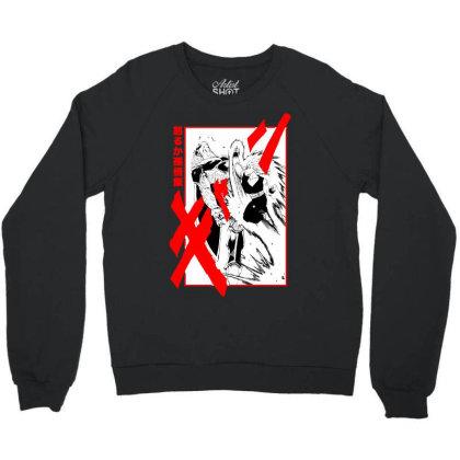 Gohan Vs Cell Crewneck Sweatshirt Designed By Paísdelasmáquinas