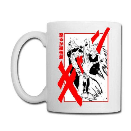 Gohan Vs Cell Coffee Mug Designed By Paísdelasmáquinas
