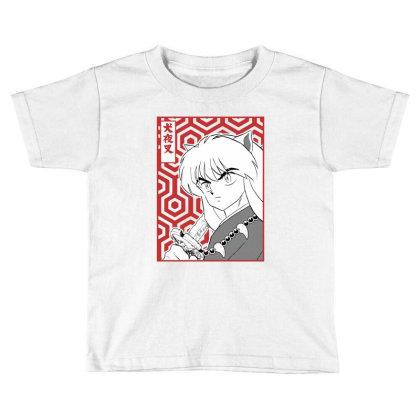 Inuyasha Toddler T-shirt Designed By Paísdelasmáquinas