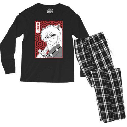 Inuyasha Men's Long Sleeve Pajama Set Designed By Paísdelasmáquinas