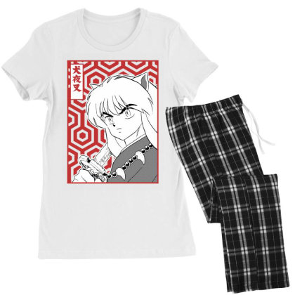 Inuyasha Women's Pajamas Set Designed By Paísdelasmáquinas