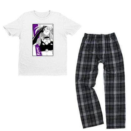 Ryoko Spacepirate Youth T-shirt Pajama Set Designed By Paísdelasmáquinas